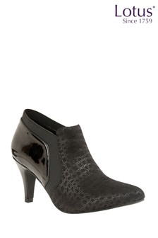 Lotus Ankle Boots