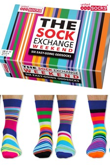 United Oddsocks The Socks Exchange Weekend Socks set