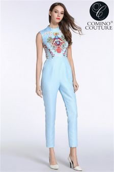 Comino Couture Embellished Jumpsuit