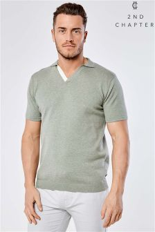 2nd Chapter Strick-T-Shirt