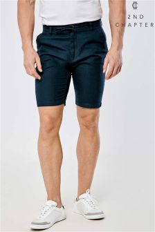 2nd Chapter Linen Blend Shorts