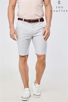 2nd Chapter Belted Shorts