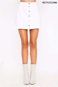 PrettyLittleThing Denim Mini Skirt