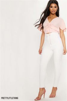 PrettyLittleThing Ruched Top