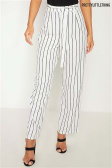 PrettyLittleThing Pinstripe Trousers
