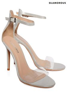 Glamorous Barely There Strappy Heels