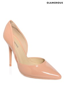 Glamorous Patent Court Shoes