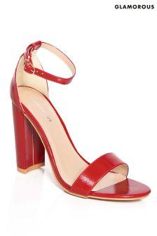 Glamorous Classic Strappy Heel