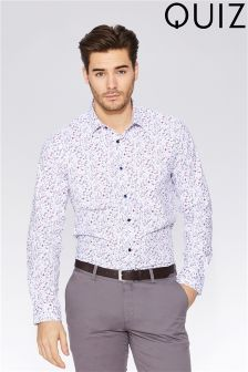 Quizman Slim Fit Stretch Shirt