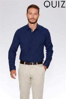 Quiz Man Slim Fit Stretch Shirt