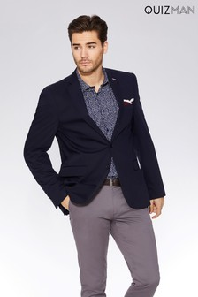 Quizman Pocket Square Blazer