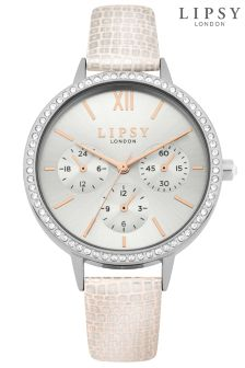 Lipsy Faux Leather Watch