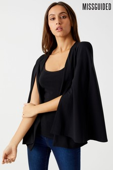 Blazer Missguided long style cape