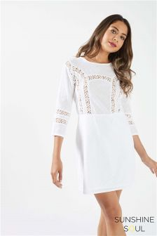 Sunshine Soul Lace Dress