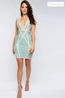 The Girlcode Contour Bodycon Mini Dress