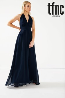 TFNC Chiffon Maxi Dress