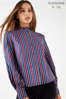 Sunshine Soul Puff Sleeve Shirt