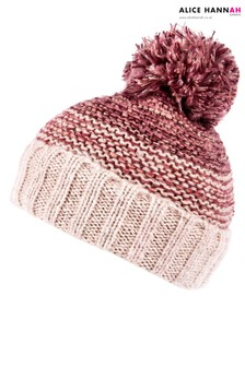 Alice Hannah Knitted Glitter Hat