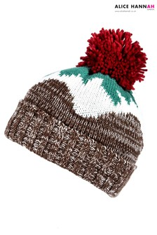 Alice Hannah Christmas Pudding Hat