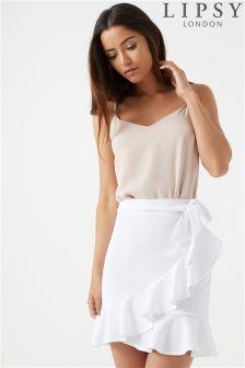 Lipsy Rara Tie Skirt