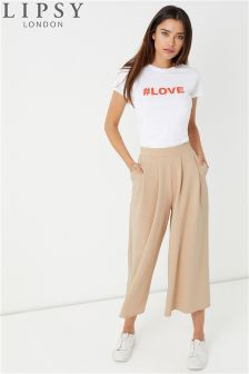 Lipsy Pleat Front Culotte Trouser