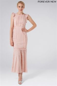 Forever New Embellished Trim Maxi Dress