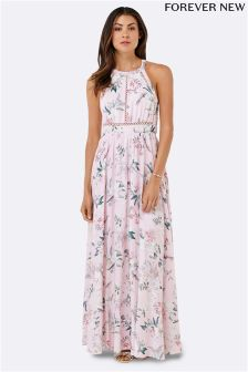 Forever New Lace Spliced Maxi Dress