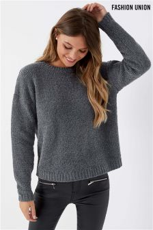 Fashion Union Tinsel Jumper