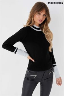 Fashion Union Glitter Jumper