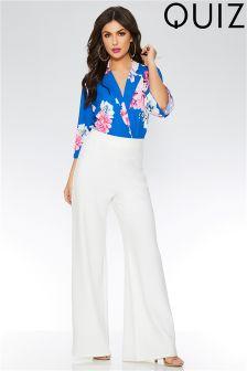 Quiz Floral Print Bodysuit
