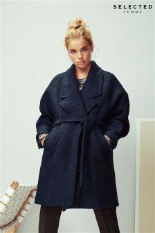 Selected Femme Wrap Coat