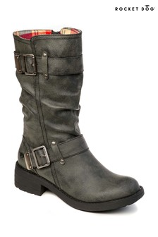 Rocket Dog Calf Height Biker Boot