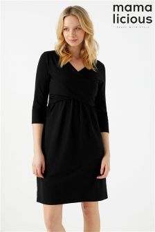 Mamaliciuous Maternity Nursing Dress
