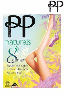 Collants Pretty Polly à bout ouvert