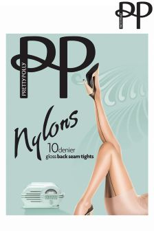 Pretty Polly Gloss Backseam Tights