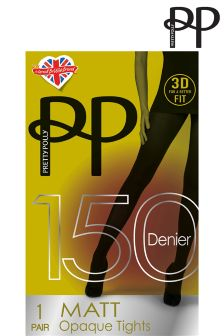 Collants Pretty Polly 3D opaques