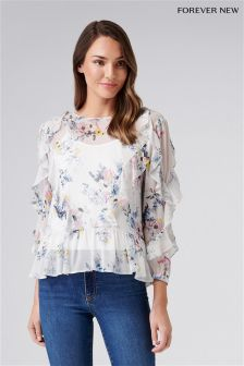 Forever New Frill Top