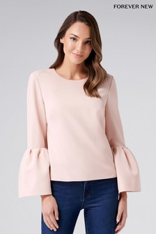 Forever New Bell Sleeve Top
