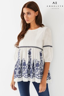 Angeleye Embroidered Top