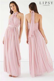 Lipsy Tall Multiway Bandeau Maxi Dress