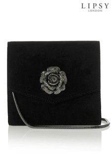 Lipsy Rose Trim Clutch Bag
