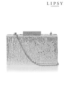 Lipsy Diamante Box Clutch