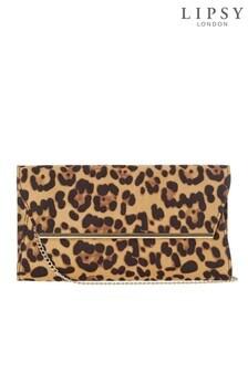 Lipsy Bar Detail Clutch Bag