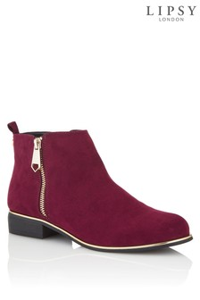 Lipsy Flat Ankle Boots
