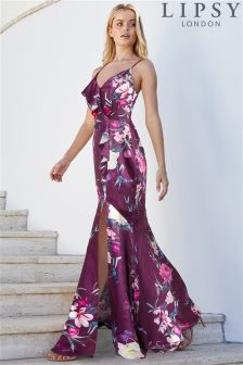 Lipsy Maya Print Maxi Dress