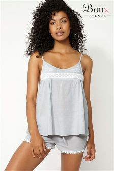 Boux Avenue Crochet Trim Cami PJ Set
