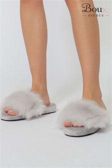 Boux Avenue Fluffy Slider Slippers