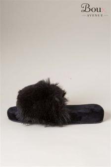 Boux Avenue Fluffy Slider Slippers
