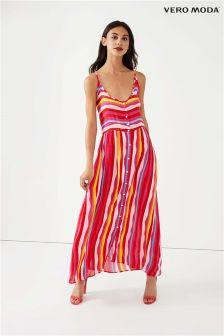 Vero Moda Rainbow Maxi Beach Dress