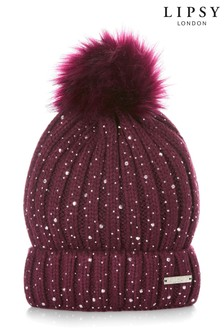 Lipsy Scattered Diamanté Hat